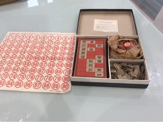 Lotto 1940s vintage game complete