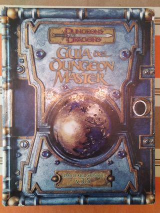 Rol Guía del Dungeon Master 3.5 Dungeons