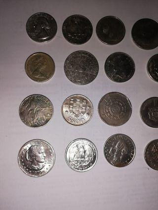 Monedas Diversas