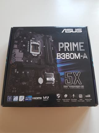 Asus intel, mATX, placa base
