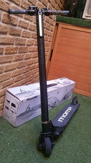 patinete eléctrico fibra de carbono 6.1 kg. 5 pung