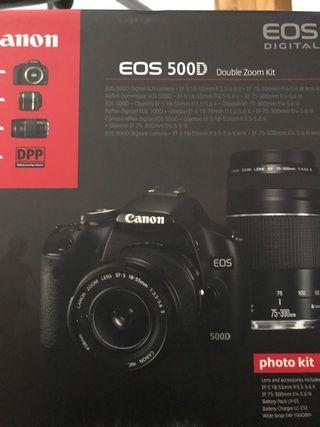 Camara de fotos canon Eos