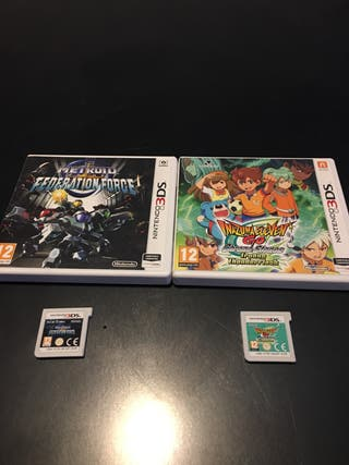 Lote de dos juagos para Nintendo 3DS