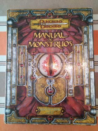 Rol Manual de Monstruos 3.5 Dungeons