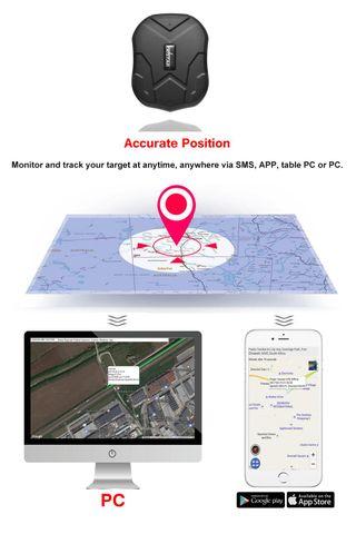 Localizador gps para coche , APP / Sitio web posic