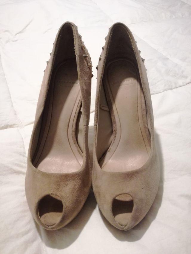Zapatos de Piel Zara