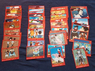 Dragonball Z Trading cards Serie 4 Roja