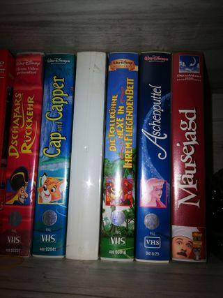 VHSs en castellano y aleman varios