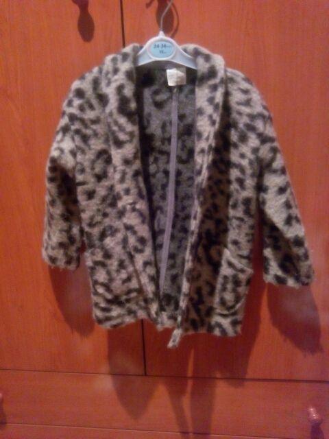 abrigo niña leopardo
