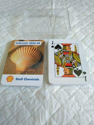 baraja poker , 54 cartas shellsol 2046 ar