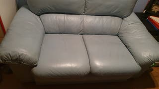 vendo sofá de piel