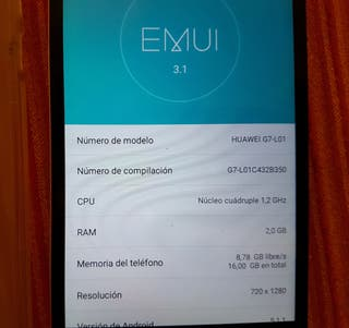 movil huawei ascend G7