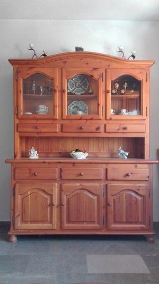 Mueble de madera estilo provenzal