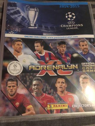 Archivador adrenalyn champions 14-15