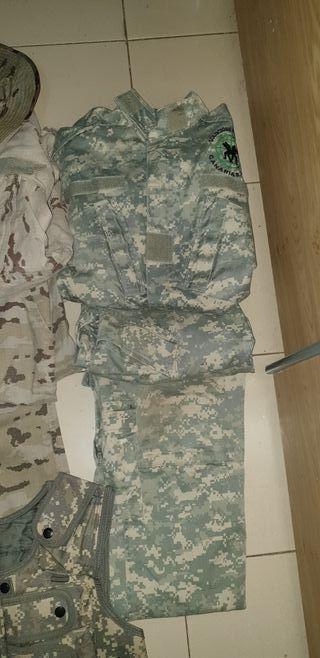 Airsoft Uniforme Militar x3