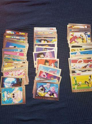 Dragonball Z Trading cards serie 2 plata