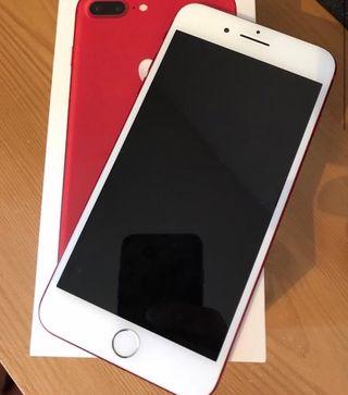 Iphone 7 plus 128 gigas edición limitada