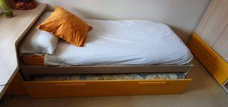 cf3b36a1af Habitación infantil dos camas de segunda mano en WALLAPOP