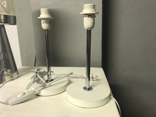 2 pies de lámpara