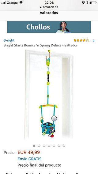 Columpio saltador bebe