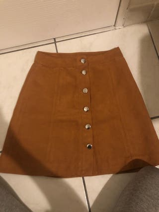 H&M brown skirt