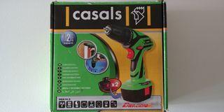 Taladro Casals 14.4v a batería (2 incluídas)