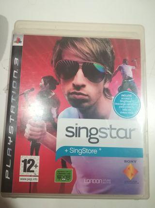 SINGSTAR JUEGO PLAYSTATION 3