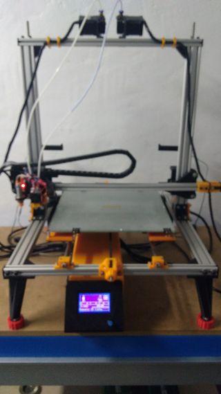 impresora 3d dos colores