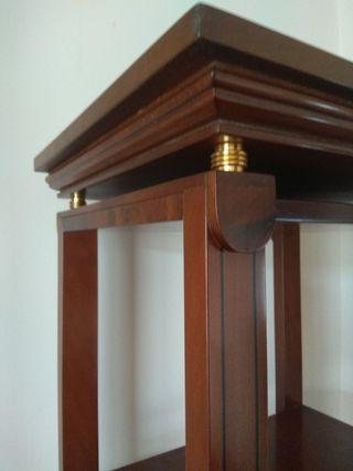 mueble estantería de cerezo