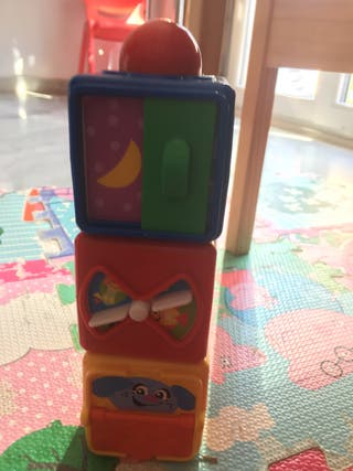 fisher price 3 cubos apilables