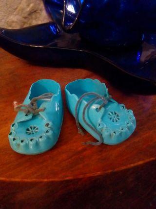 Antiguos zapatos de nenuco