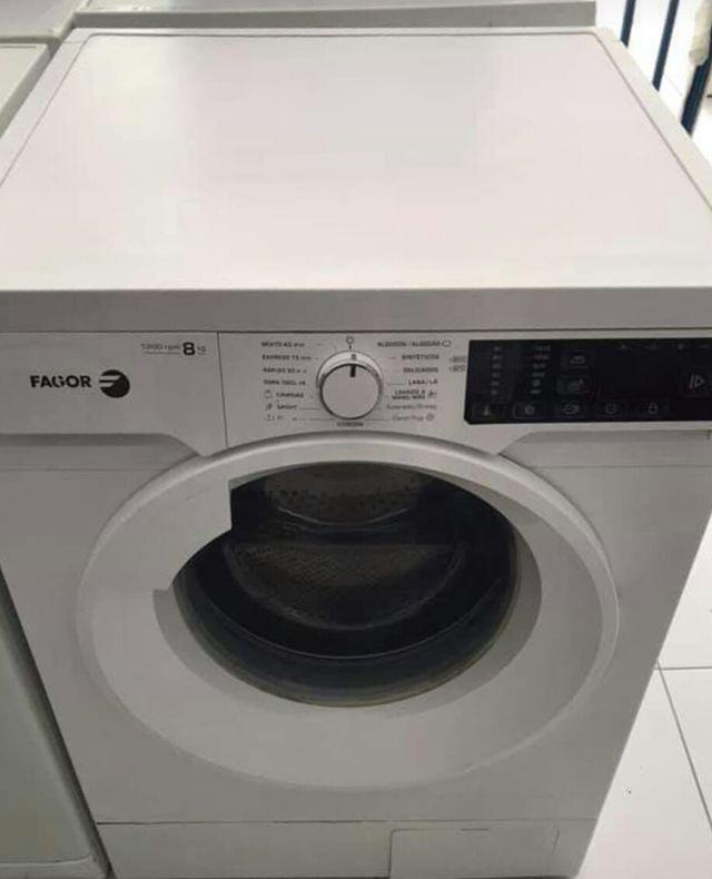 lavadora fagor 8 kl en buen estado con garantia