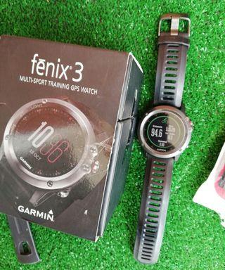 Garmin Fénix 3 + sensor de cadencia