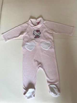 Pelele bebé Hello Kitty talla 24 meses
