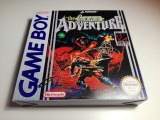 The Castlevania Adventure Game Boy