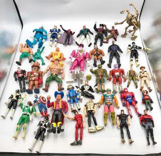 Lote 35 Muñecos Airgamboys Bandai Hulk