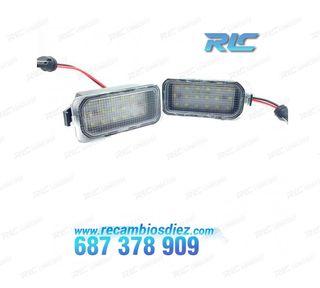 Luces de matrícula LED Ford Focus MK III (2009-201