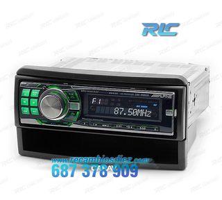 Marco adaptador negro para radio 1-DIN FORD Fiesta