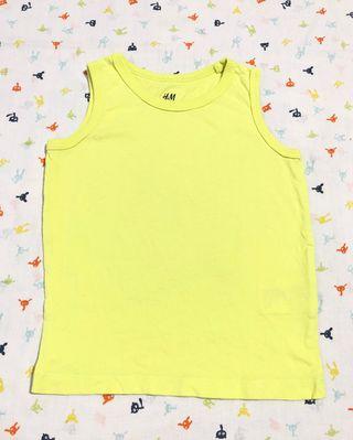 Camiseta H&M niña niño 18-24 meses