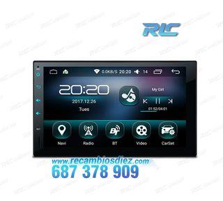 RADIO NAVEGADOR ANDROID 6.0 MARSHMALLOW 2DIN GPS 7