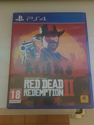 juego ps4 re dead redemtion 2