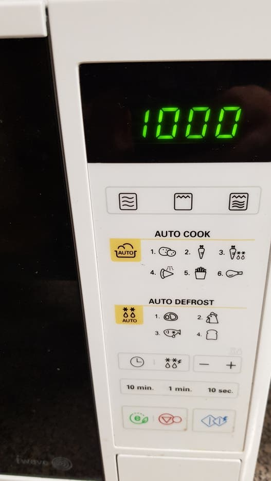 LG Microondas con Grill 1000W