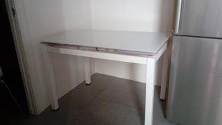 mesa de cocina 1107x70 extensible