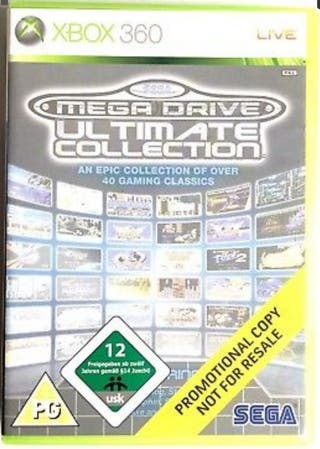 Mega Drive Ultimate Collection - Xbox 360