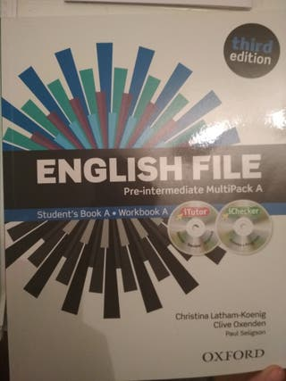 English file, pre_intermediate A