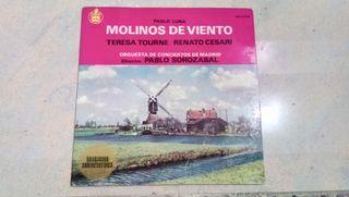 LP vinilo Pablo luna molinos de viento