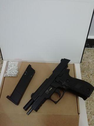 pistola de metal