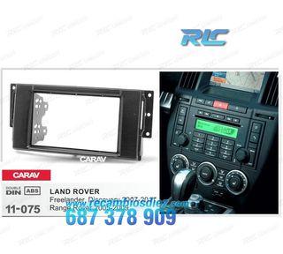 Marco adaptador negro para radio 2-DIN LAND ROVER