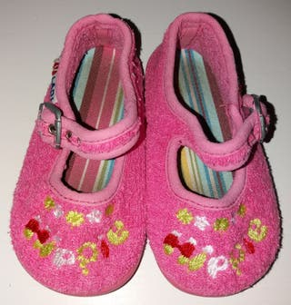 Zapatillas toalla
