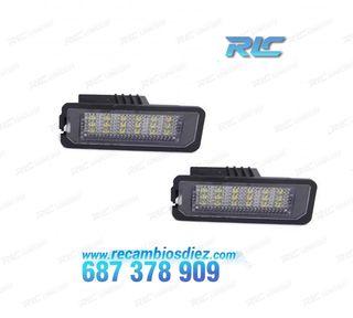 Luces de matrícula LED para Volkswagen Passat B6 (